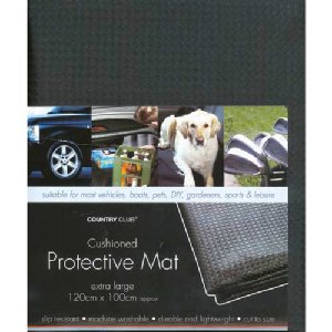 Extra Large PVC 100cm x 100cm Cushioned Protective Multi Use Mat New