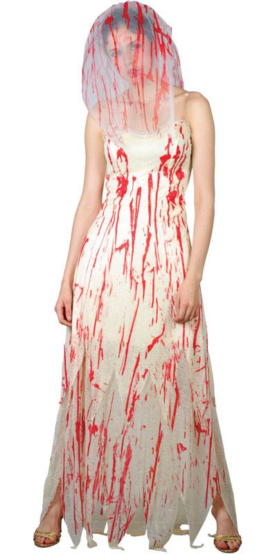 zombie braut horror halloween fasching verkleidung f r frauen kost m 34 36 ebay. Black Bedroom Furniture Sets. Home Design Ideas