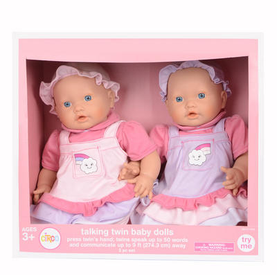 Bitty Baby Twins Side Side Double Stroller American Girl