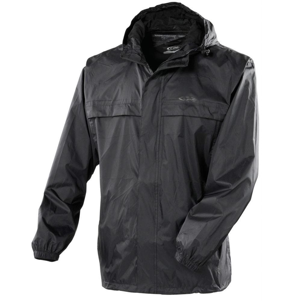Gelert Men S Rainpod Waterproof Hooded Zipped Jacket With Travel Storage Pod Bag Ebay