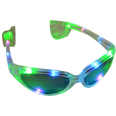 Wholesale Job Lot 72 Fun Light Up Rainbow LED Sunglasses Events Festivals Party