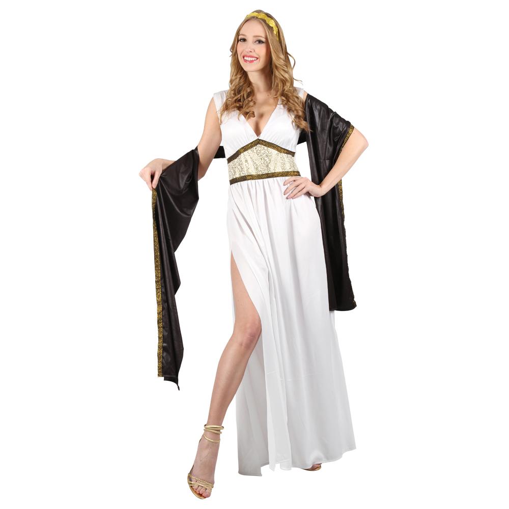 Womens Stylish Mythical Goddess Aphrodite Greek Toga Party ...