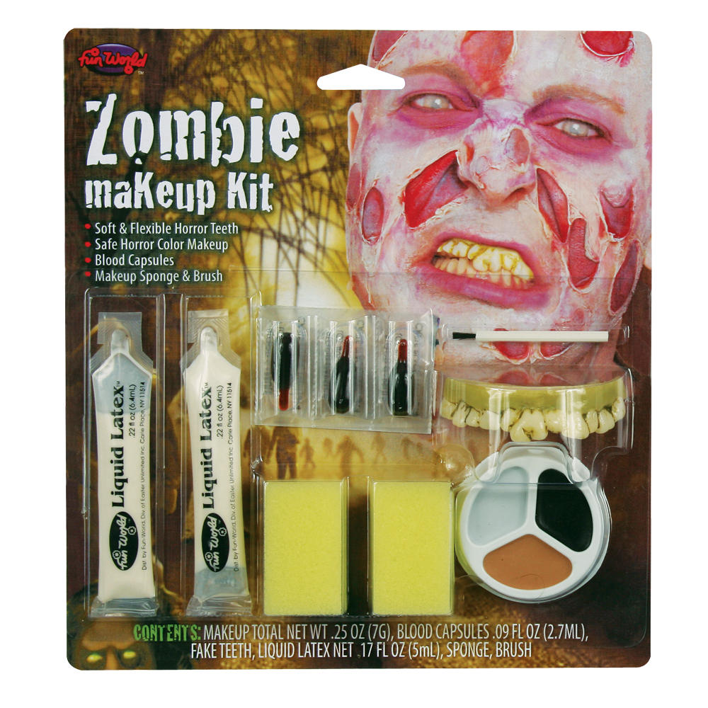 Undead Zombie Makeup Special Rotting Skin Halloween