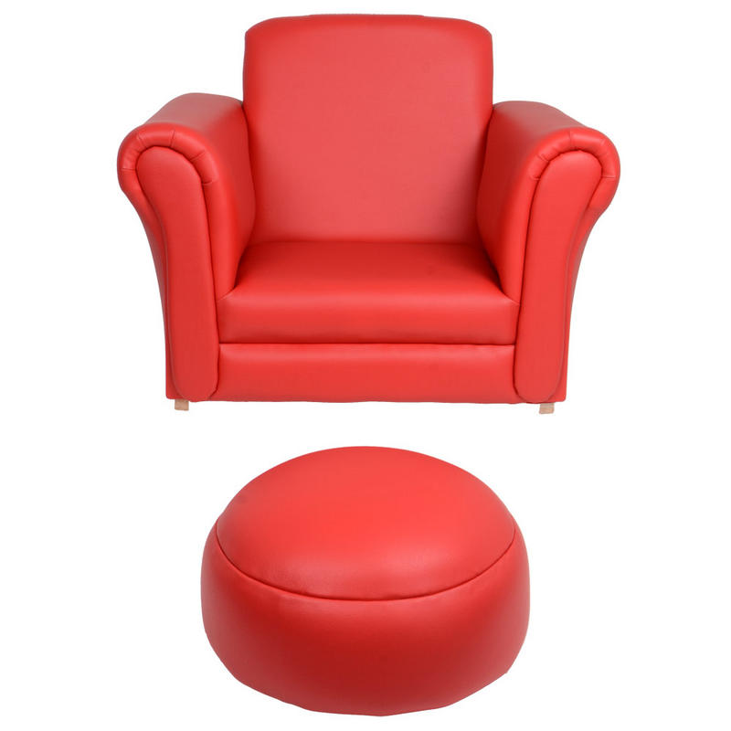 Azuma Kids Pu Leather Look Rocker Rocking Armchair Seat