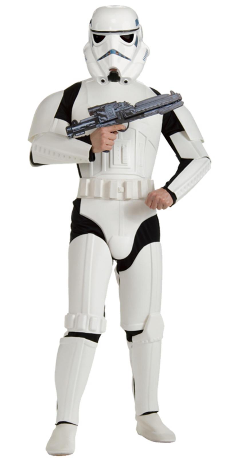 rubies movie star wars deluxe storm trooper fancy dress