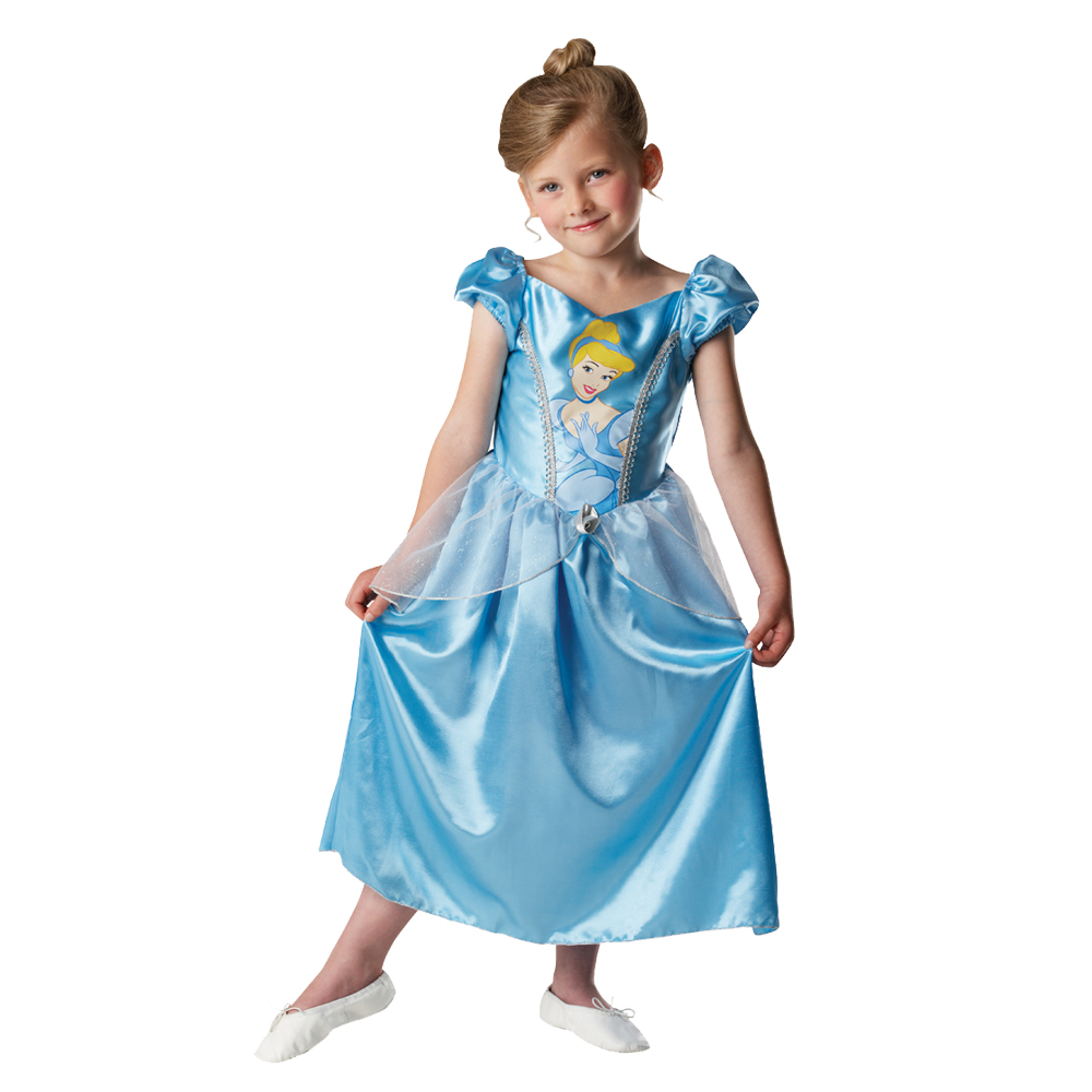 New Nip Disney Baby Girls Halloween Cinderella Costume 6: Childs Girls Disney Princess Cinderella Fancy Dress Up
