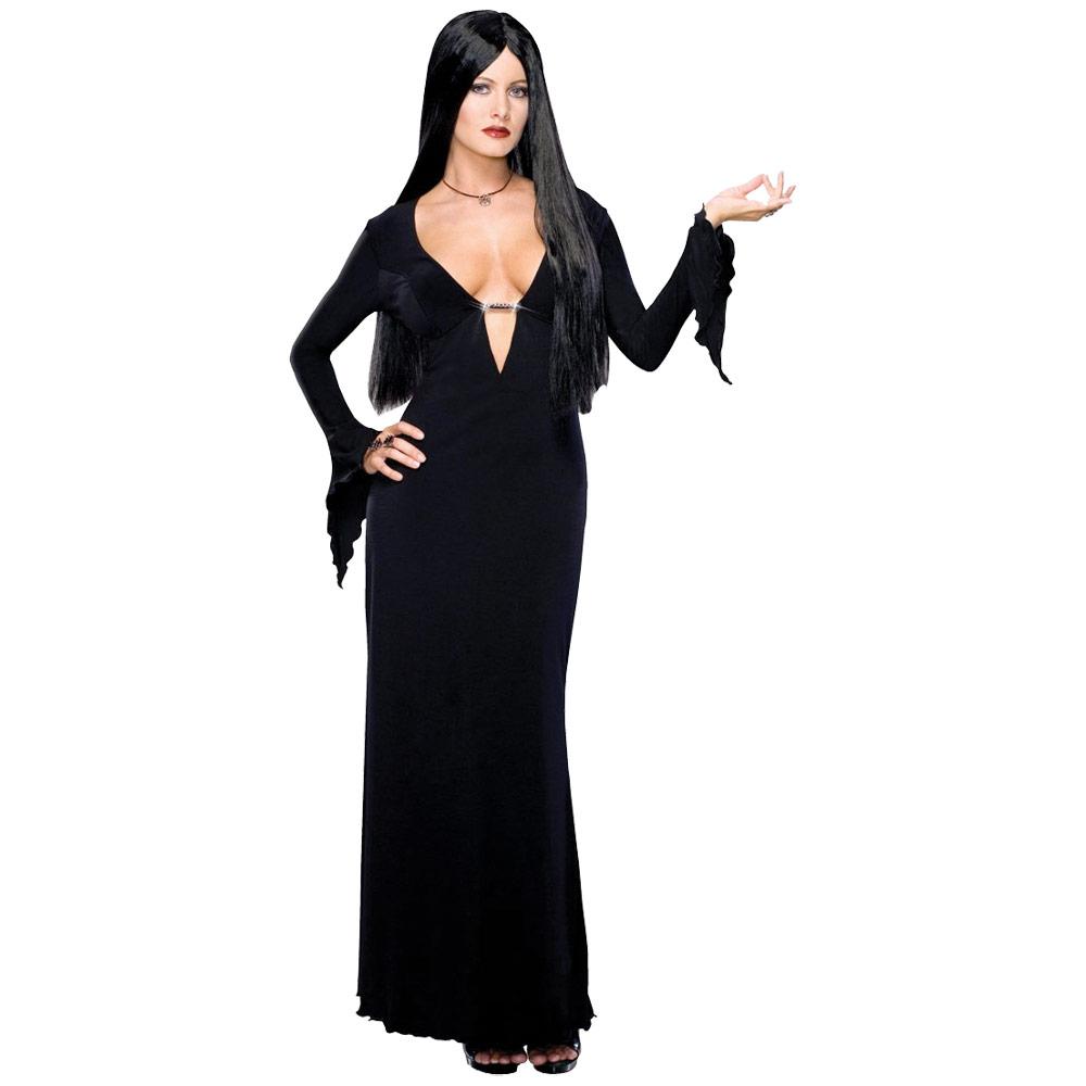Ladies-Morticia-Addams-Family-Film-Fancy-Dress-Halloween-Gothic-Horror-Costume