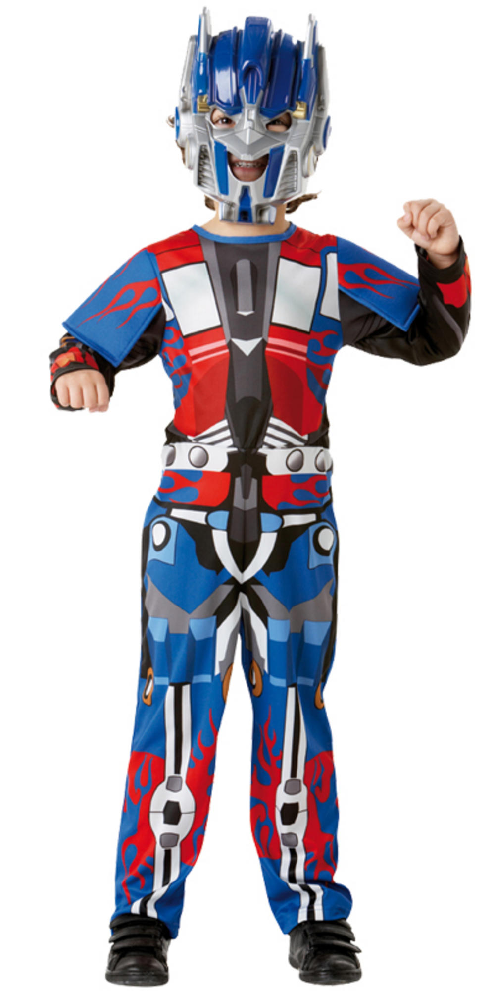 Transformers robot optimus prime autobot fancy dress up party costume
