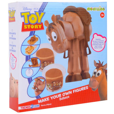 Disney Toy Story Modellino Make Your Own Action Figure Craft Modelling Set Bullseye