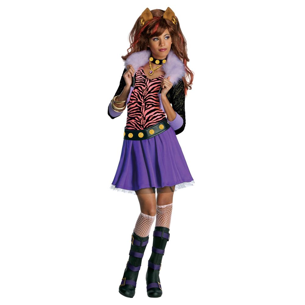 Clawdeen wolf halloween fancy dress horror party cute costume ebay