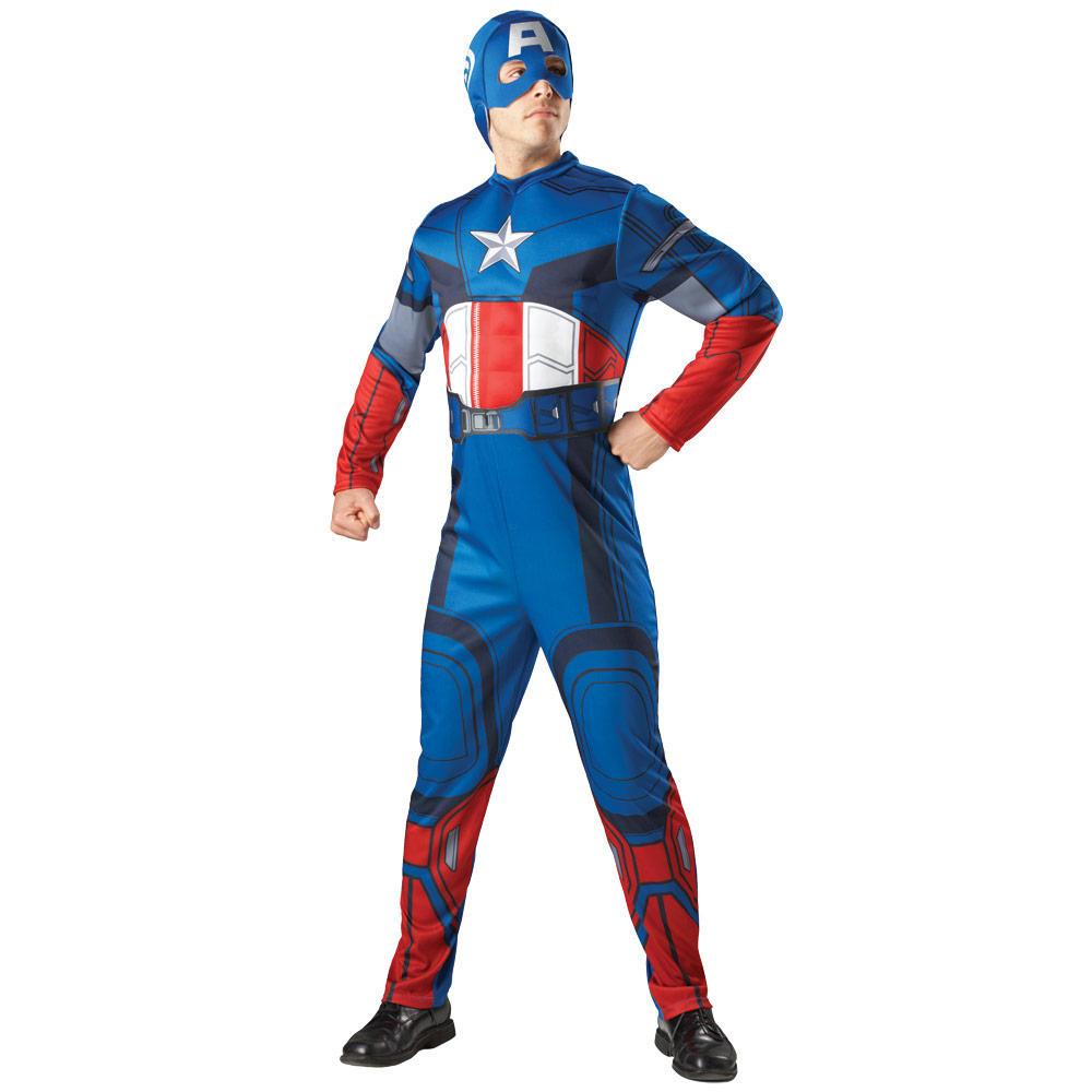 Captain america adult costume