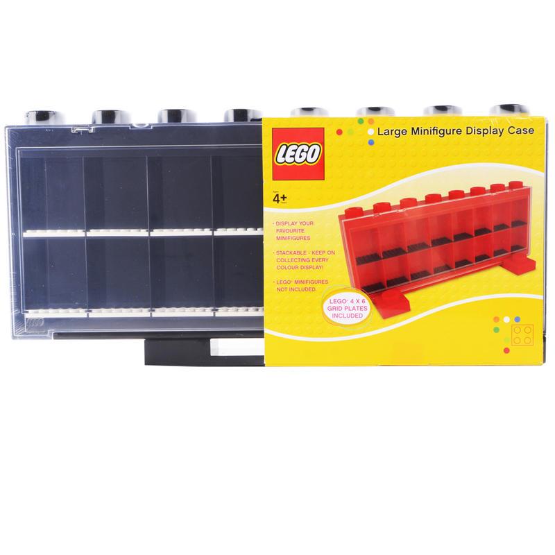 LEGO Minifigure Display Case Large Stacking Storage Box