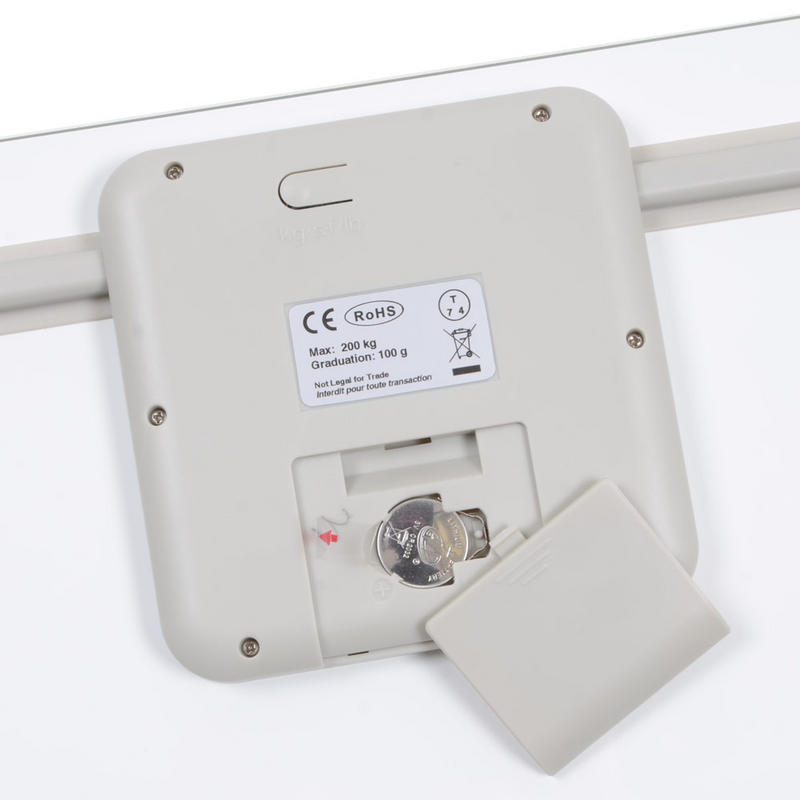 Hanson hxl high capacity electronic bathroom body weight scales weigh upto 200kgs for Large capacity bathroom scale