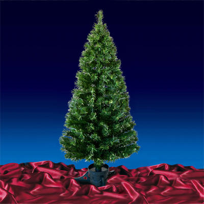 5ft 150cm Beautiful Green Open Burst Fibre Optic Christmas Tree