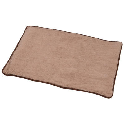 Medium Dog Puppy Pet Machine Washable Fleece Mat 75 x 50cm
