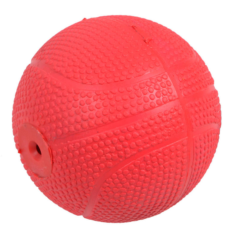 Red Ball Toy : Cm red rubber puppy dog pooch pet ball fetch play toy