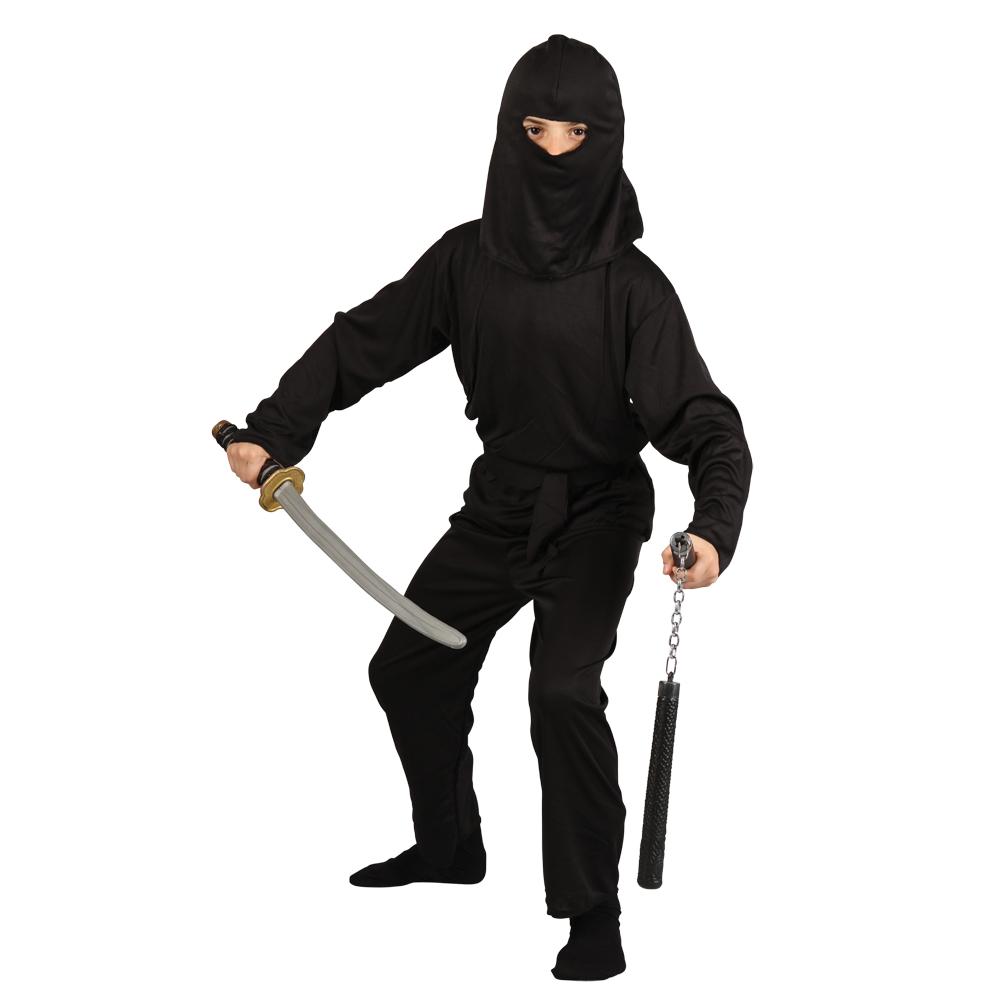 Boys Deadly Dark Ninja Japanese Shinobi Fighter Kung Fu Fun Fancy ...