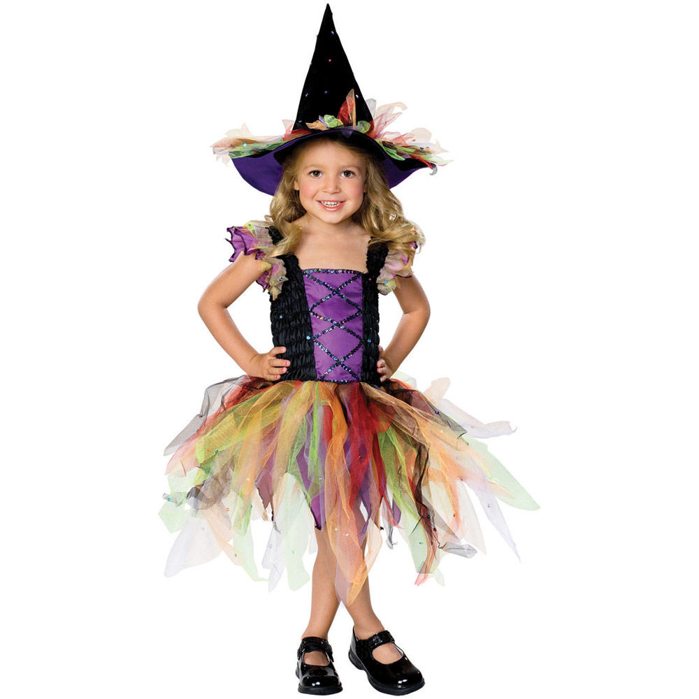 witch cute costume dress halloween fancy glitter spooky sequin costumes pretty witchy outfit toddler couple bruja baby child warlock delivery