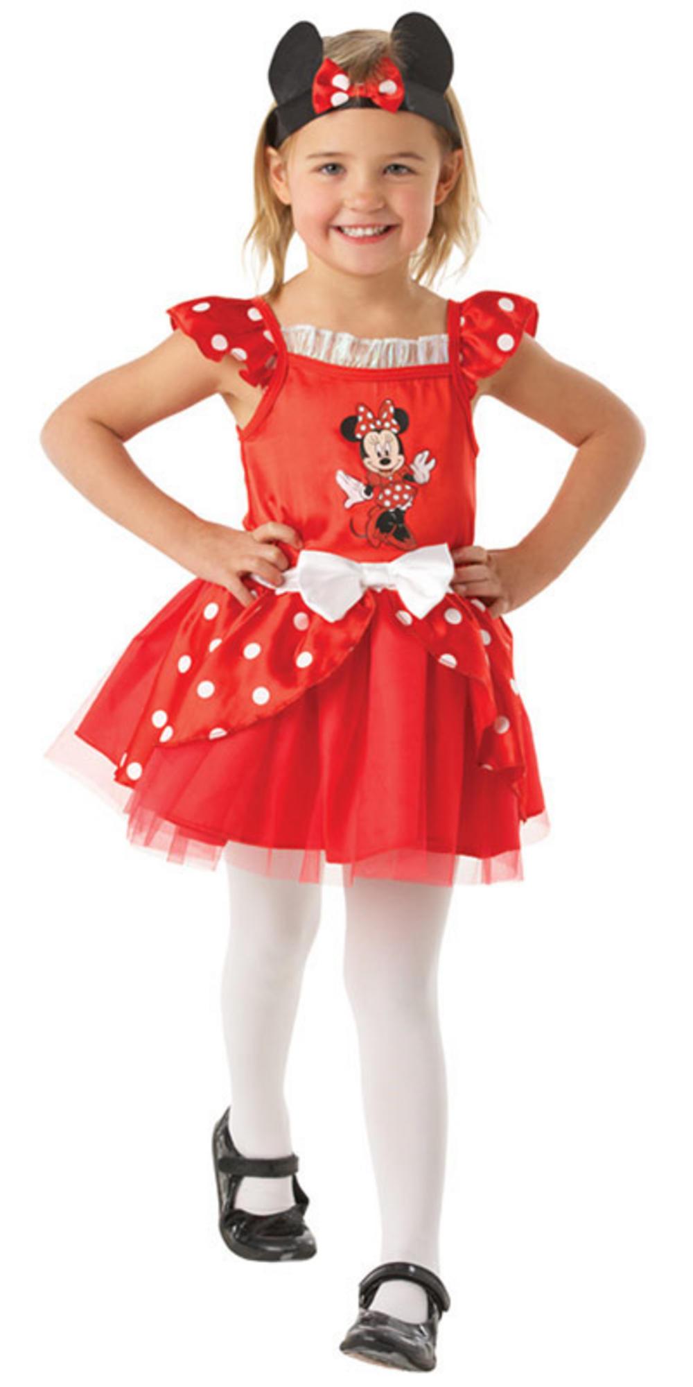 disney minnie mouse ballerina cartoon character girls fancy dress halloween costume. Black Bedroom Furniture Sets. Home Design Ideas