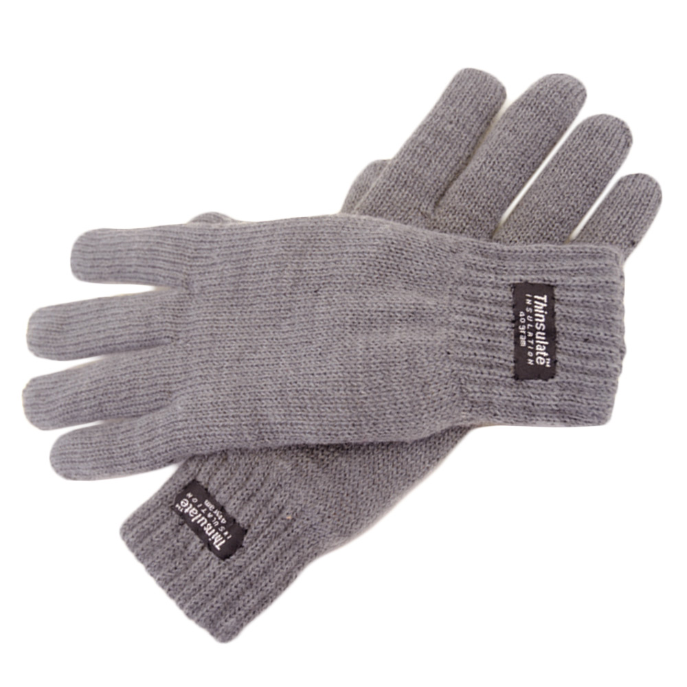 Ladies' Stretch Knitted Warm Winter Gloves Thinsulate