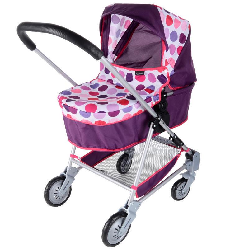 Mamas Amp Papas Junior Urbo Purple Sugar Spot Fabric Toy