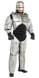 Original Rubies Robo Cop Fancy Dress Costume XL