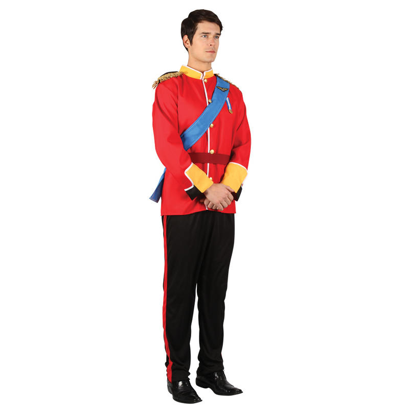 Handsome Royal Prince Charming William Toy Soldier Mens ...