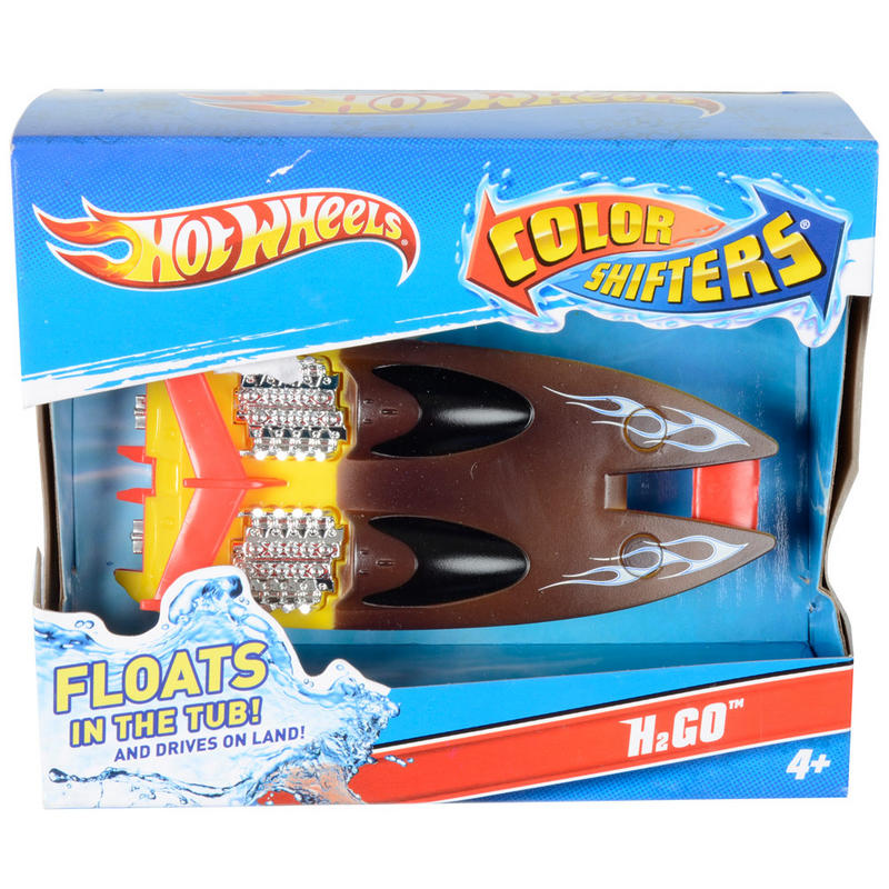 Hot Wheels Colour Shifters Floating Bath Tub Vehicle Car Toy