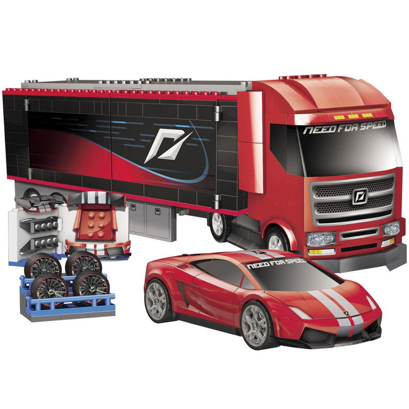 mega bloks need for speed custom rig 95760 562 pieces. Black Bedroom Furniture Sets. Home Design Ideas