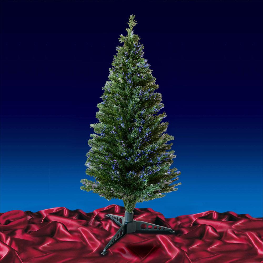 Festive 5ft 150cm Green Fibre Optic Artificial Indoor Crimbo Christmas Xmas Tree