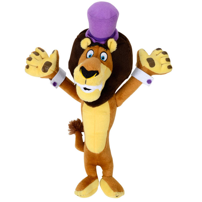 Alex Lion Madagascar 3 Movie Zoo Animal Soft Plush Cuddly Toy Preview Madagascar Marty Toy