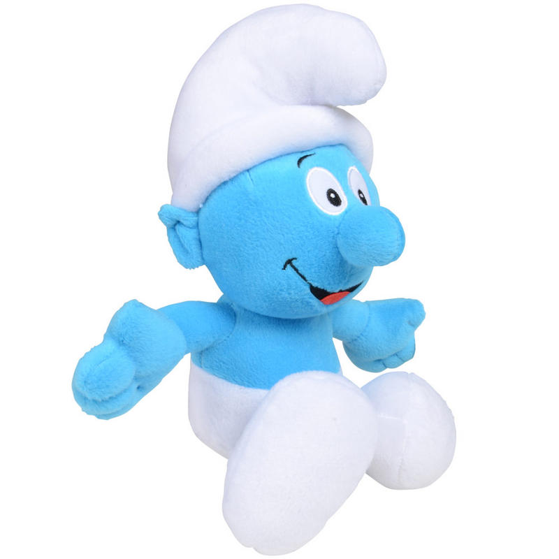 The smurfs 36cm 14 quot soft plush cuddly stuffed toy classic smurf