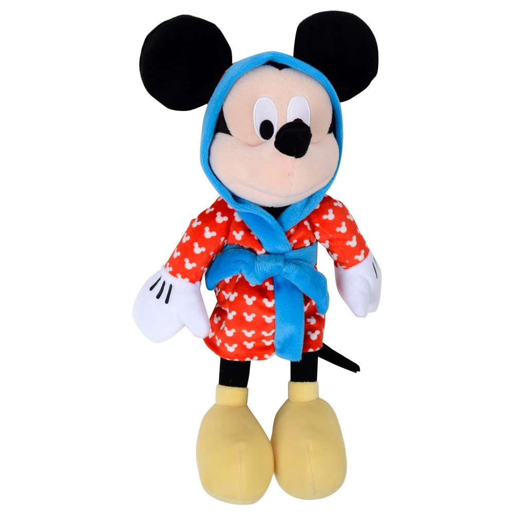 Mickey Mouse Toys : Disney mickey mouse clubhouse in dressing gown soft plush