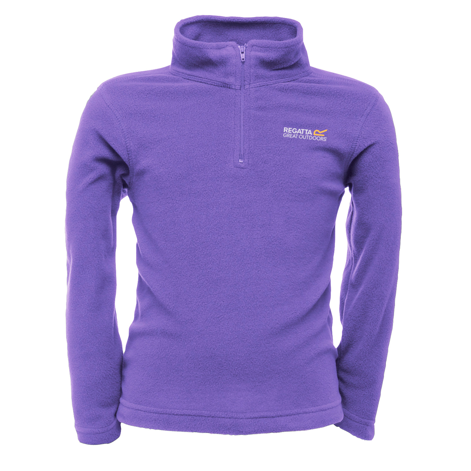 Regatta-Childrens-Hot-Shot-Fleece-Jacket-Zip-Neck-Top-Outdoor-Wear-Kids-Colours