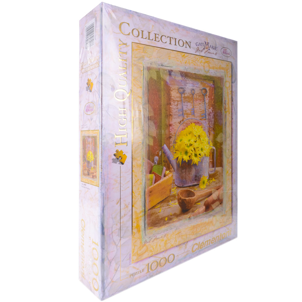 Clementoni High Quality 1000 Piece Jigsaw Puzzle Gail Marie Enchanted Moments Flowers Age 18+