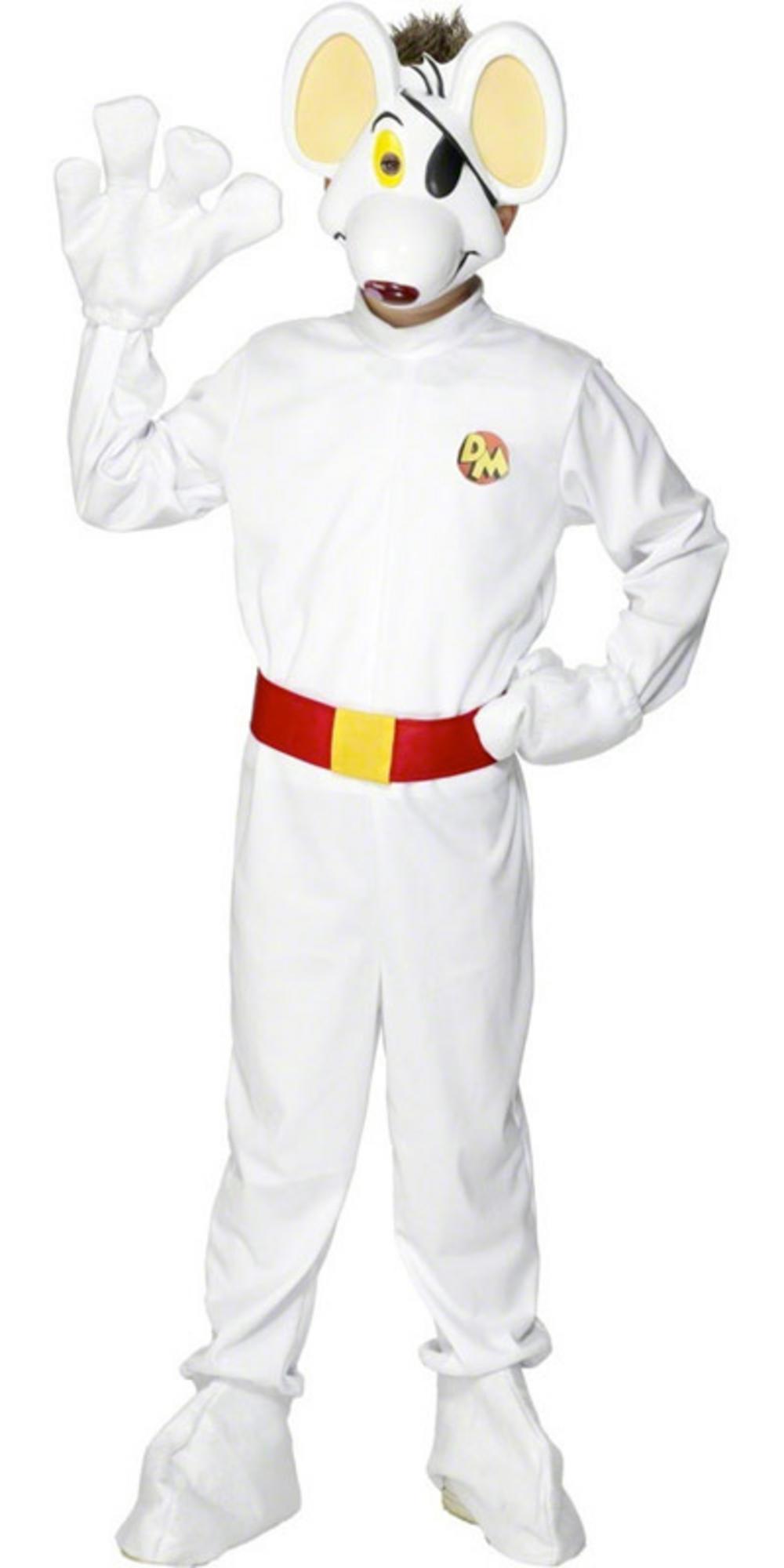 Cartoon Characters Outfits : Childs danger mouse fancy dress halloween s cartoon tv