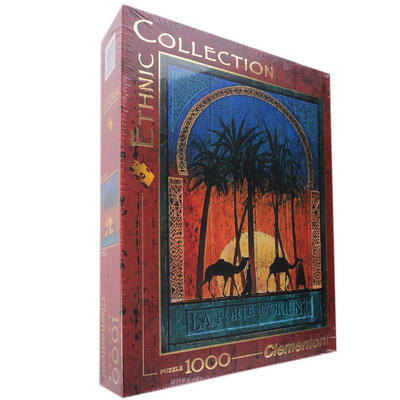 Clementoni Ethnic Collection 1000 Piece Jigsaw Puzzle La Porte D'Orient Age 18+