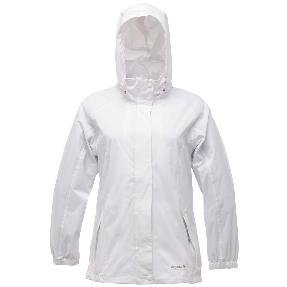 Regatta Ladies Joelle Lightweight Packaway Hooded Waterproof ...