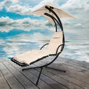 View Item Azuma Dream Chair Swing Hammock Garden Furniture Sun Seat Relaxer Chair - Natural