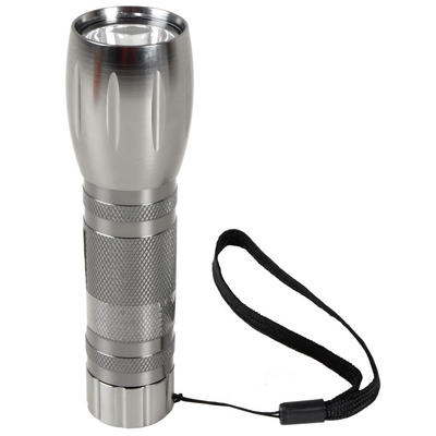 12cm Handy Aluminium Camping DIY Bright Light Flashlight Torch