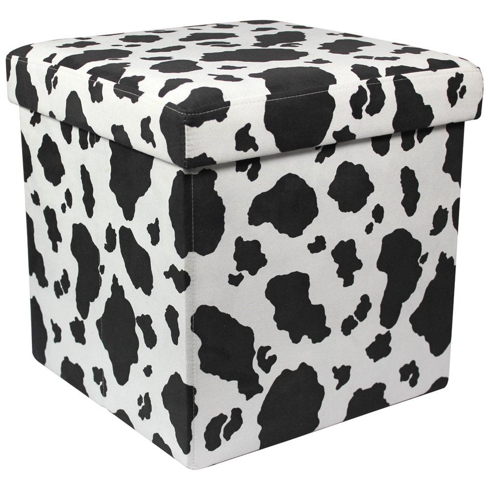 Superb Animal Print Folding Storage Ottoman Jungle Animal Print Dailytribune Chair Design For Home Dailytribuneorg