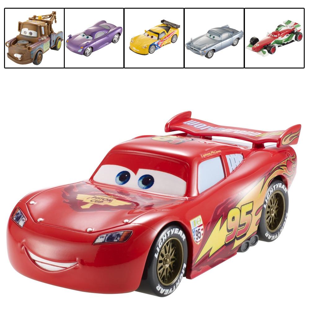 cars 2 pullback race car mcqueen mater holley finn jeff fran disney pixar age 3 ebay. Black Bedroom Furniture Sets. Home Design Ideas