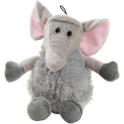 Plush Jolly Jungle Soft Toy Animal Fluffy Cuddly Elephant That Can Sit Up