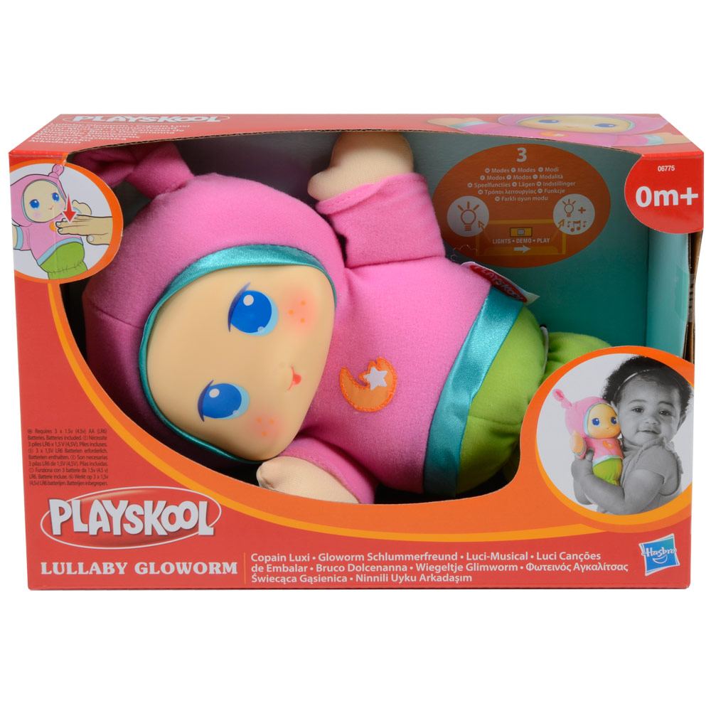 Toys For Bedtime : Playskool musical light up baby girls pink lullaby gloworm