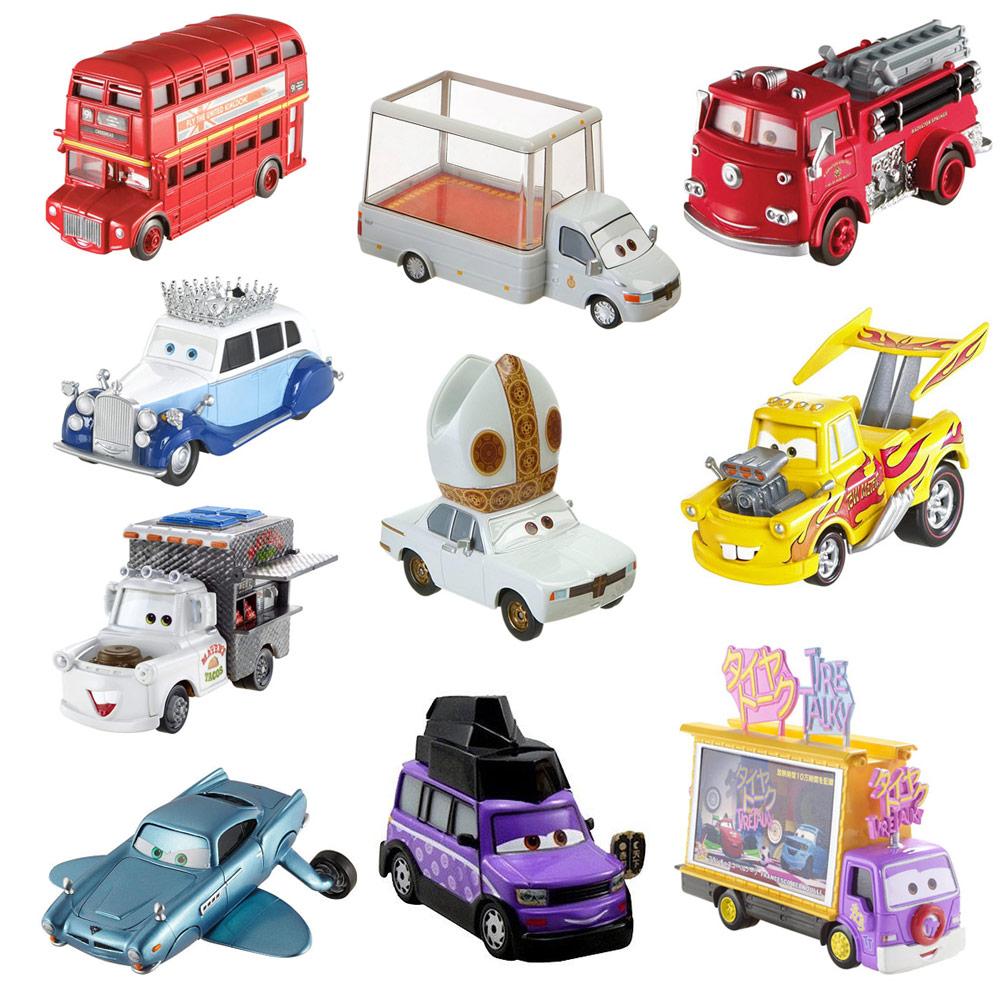 Disney Pixar Cars 2 Deluxe Die Cast Movie Character Car Bus Vehicle