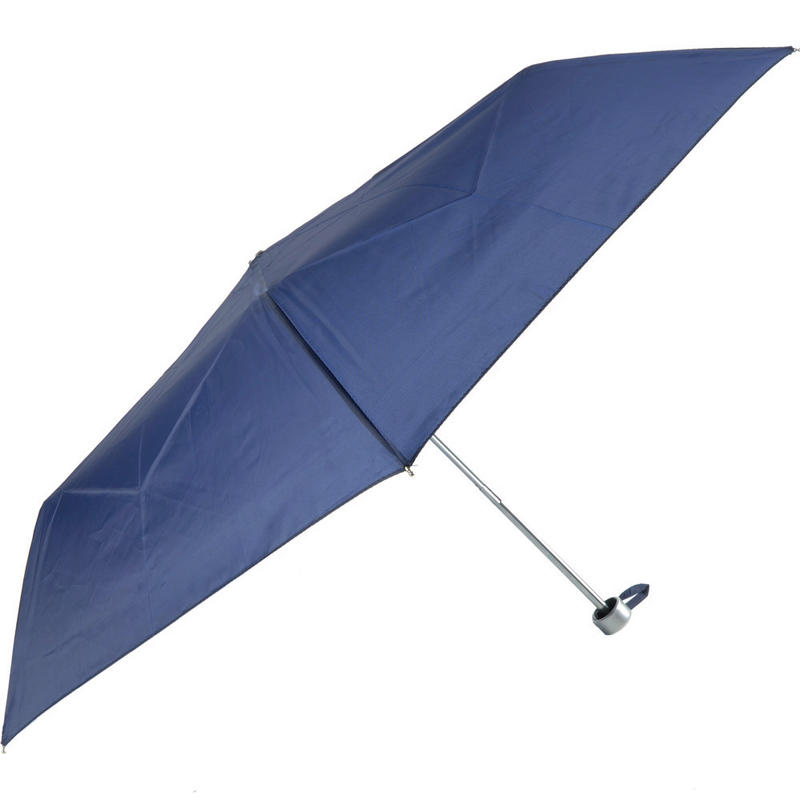 ladies wind resistant folding umbrella navy butterflies On wind resistant material