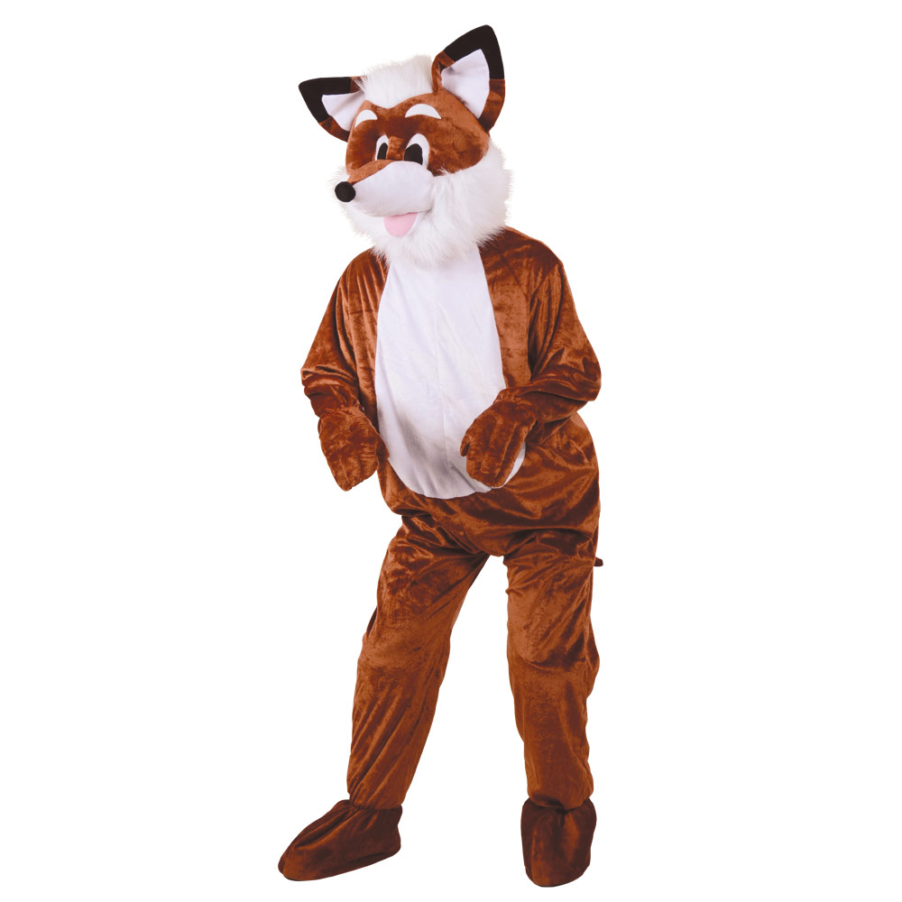Fox Person Plush fantastic fox animal mascot sport charity marathon ...