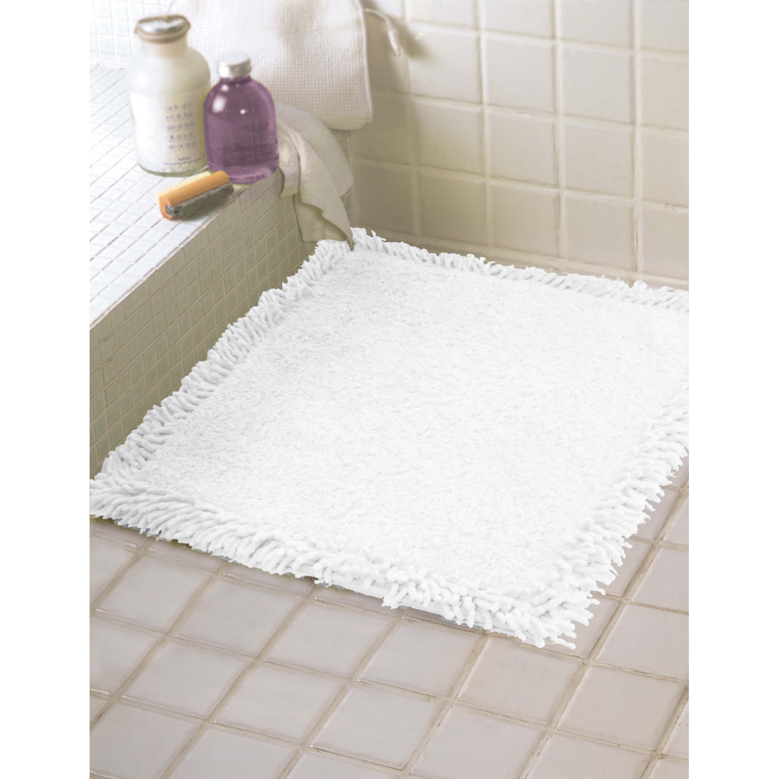 60cm X 60cm Shower Mat Floor Towel Bath Rug 100 Cotton