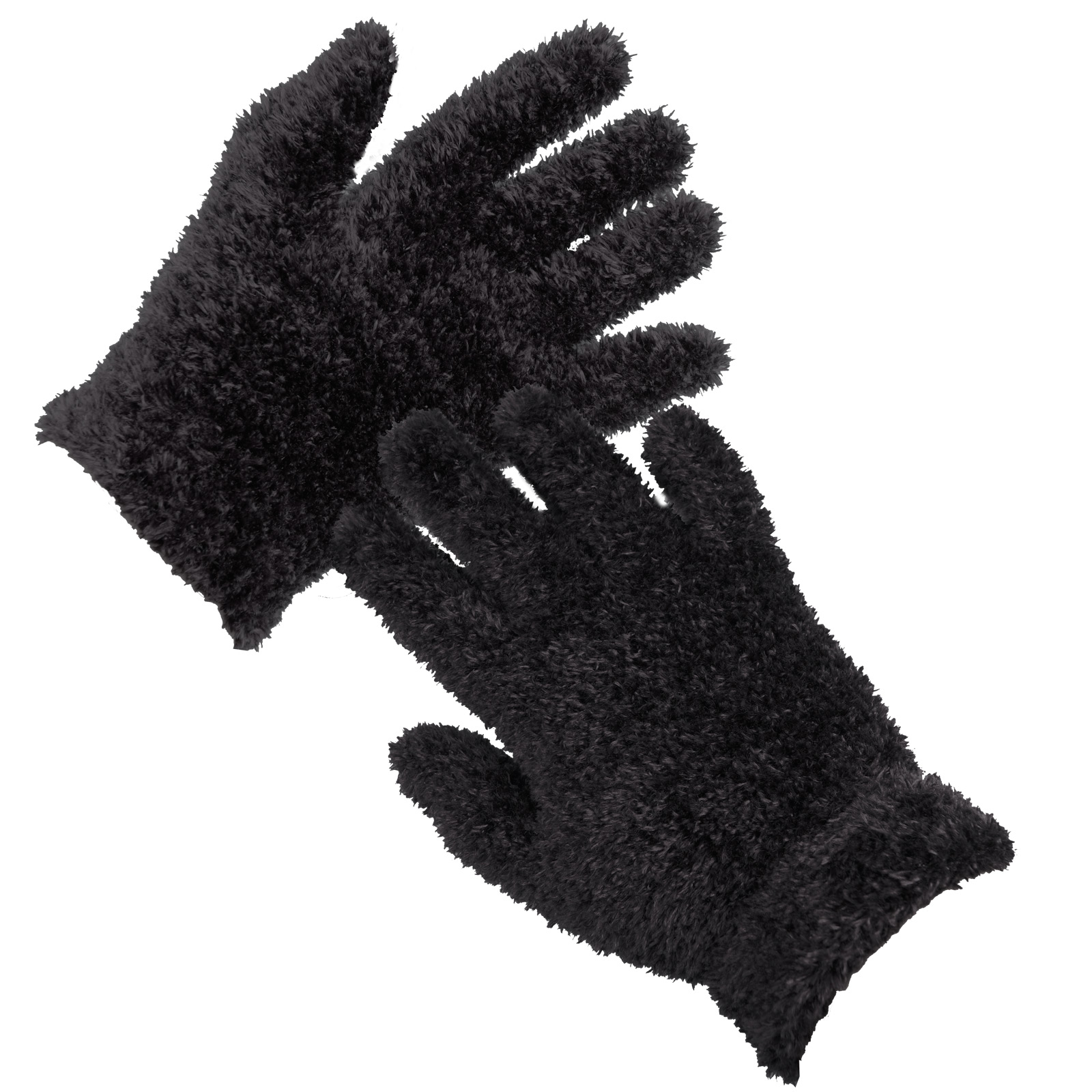 Black gloves white magic - Ladies Feather Feel Magic Stretch Gloves Purple Blue