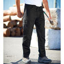Regatta Adult Mens Black Workwear Utility Cargo Combat Action Trousers